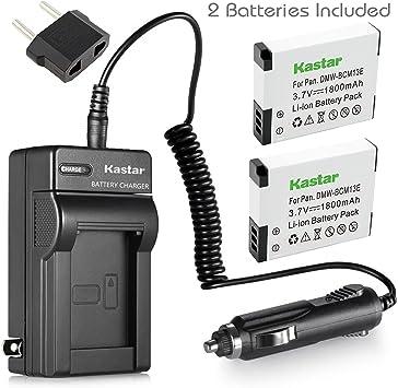 USB Battery Charger DMW-BCM13E For Panasonic DMC-TZ55 DMC-TZ70 DMC-TZ37