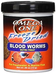 OMEGA One Freeze Dried Bloodworm .46oz