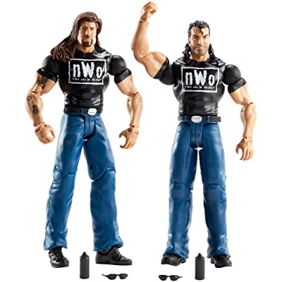 WWE Battle Pack The Outsiders Action Figure, 2 Pack: Toys & Games
