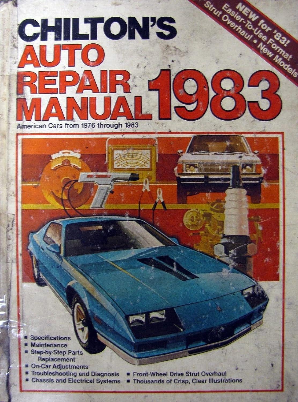 Amazon.com : 1976-83 Chilton's Auto Repair Manual - #7200 : Everything Else