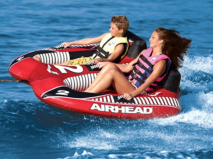 amazon com airhead viper 2 rider waterskiing towables sports