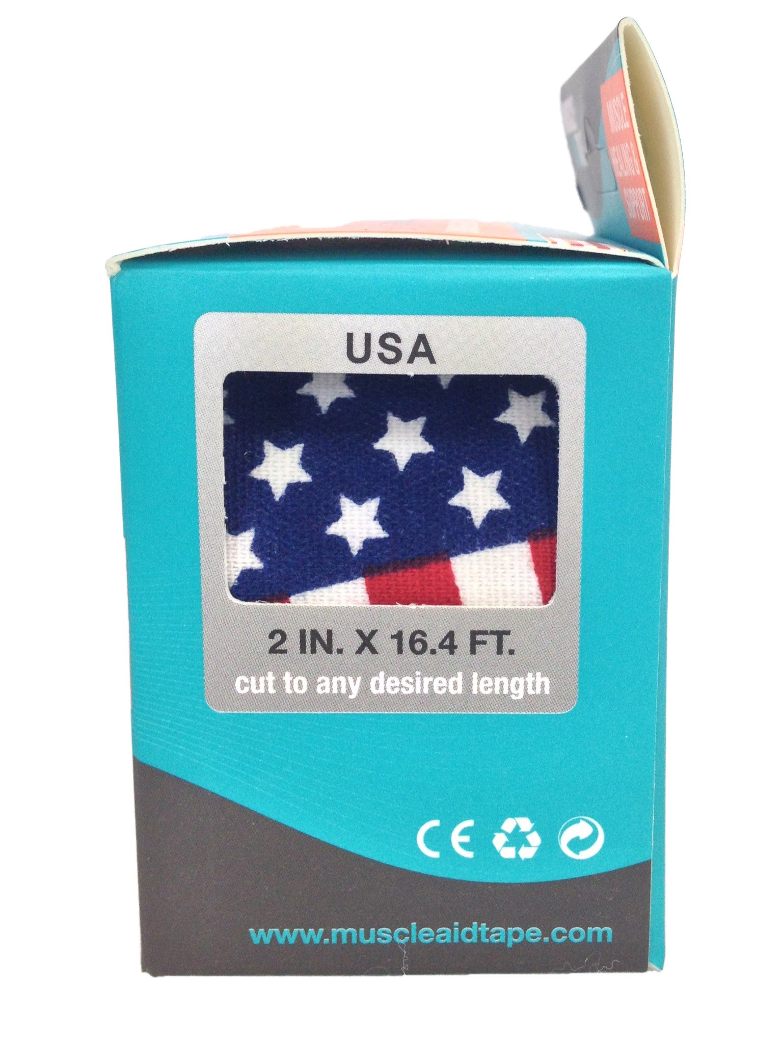 MuscleAidTape Kinesiology Tape (USA Stars & Stripes)