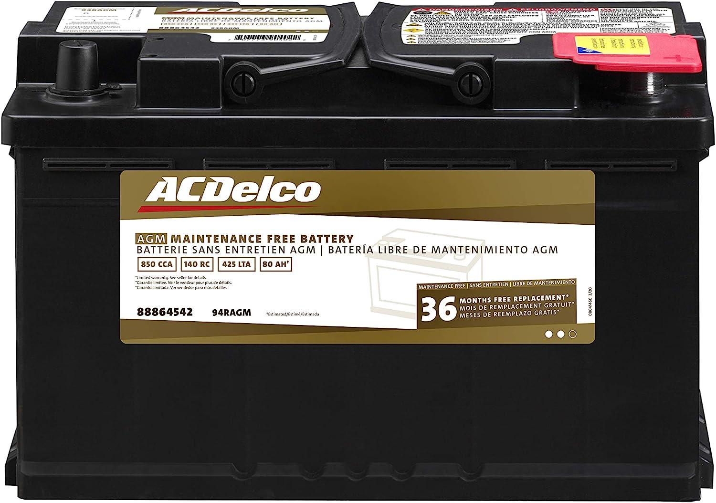 Acdelco AGM电池