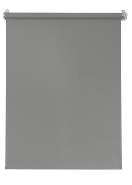 Seitenzugrollo 80x220 creme verdunkelnd Verdunklungsrollo Klemmfix Sichtschutz