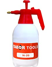TABOR TOOLS N-20, Pump Pressure Sprayer, 0.5 Gallon Garden Sprayer & Mister for Water, Herbicides, Pesticides, Fertilizers, Mild Cleaning Solutions and Bleach