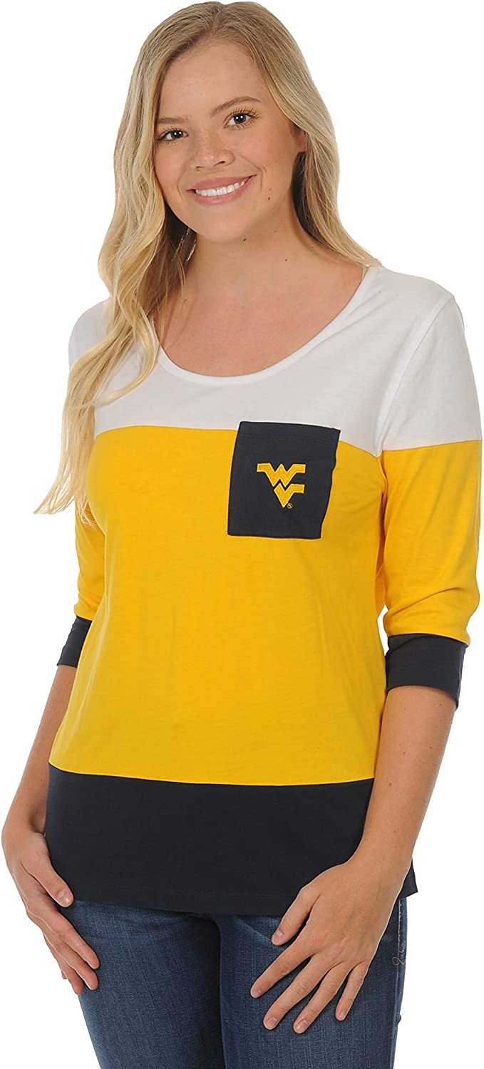 UG Apparel NCAA Womens Colorblock L//S Top