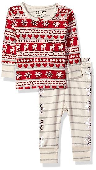 91b8cb05ff83 Hatley Baby Girls Organic Cotton Pajama Sets  Amazon.in  Clothing ...