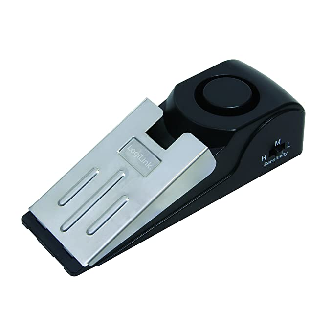 LogiLink SC0208 Alarma Personal - Alarmas personales (120 dB, Negro, De plástico, 138 mm, 46 mm, 40 mm)