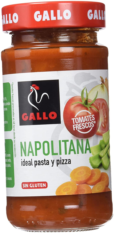 Pastas Gallo - Salsa Napolitana Tarro - 260 g: Amazon.es ...