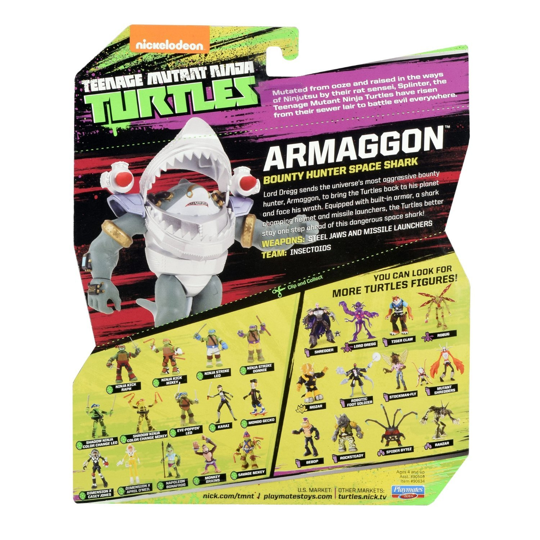 Teenage Mutant Ninja Turtles TUA49000 Armaggon Action Figure ...