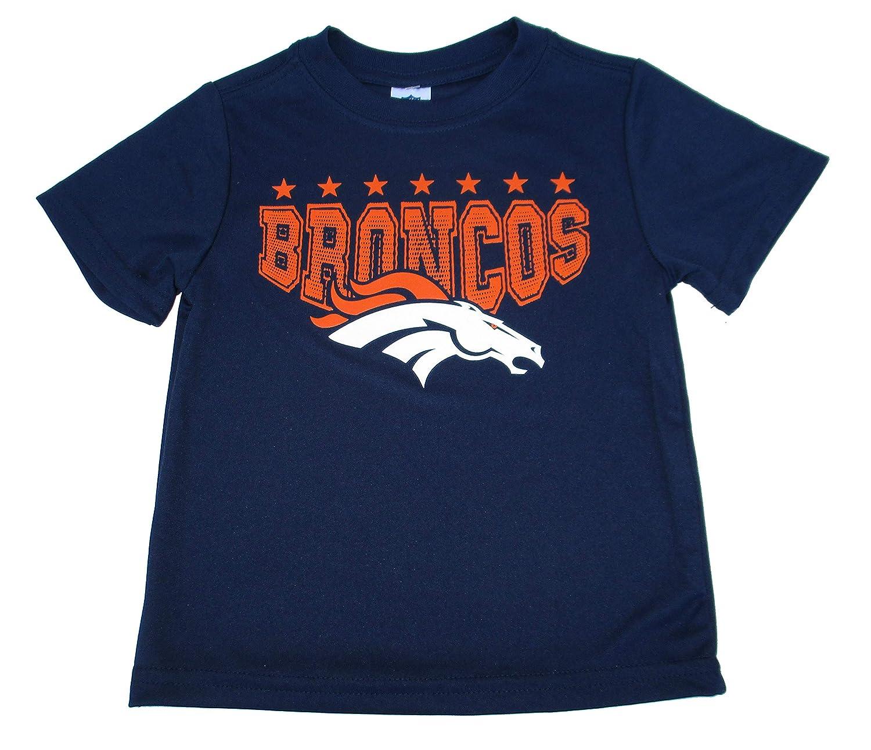 Amazon.com   NFL Team Apparel Denver Broncos Toddler Size 3T Performance  Shirt - Navy Blue   Sports   Outdoors a634c04a6