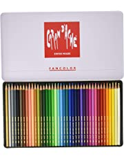 Caran d'Ache Fancolor Color Pencils 40 Colors Multi