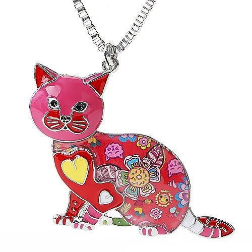 Día de San Valentín Regalos para Gato Gatos de Dibujos de ...