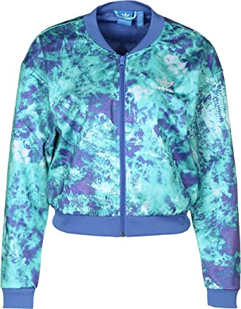 df5c8fcedcd5 Amazon.com  adidas Originals Women s Ocean Elements Track Jacket 14 ...