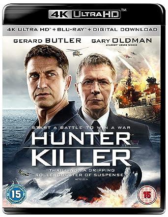 Amazon.com: Hunter Killer [4K UHD + Blu-ray]: Gerard Butler, Gary Oldman,  Toby Stephens, Linda Cardellini, Common, Donovan Marsh: Movies & TV