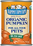 Nummy Tum Tum Pure Pumpkin For Pets, 15-Ounce Cans (Pack of 12)