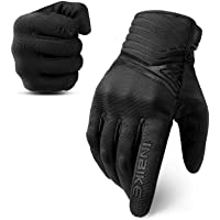 INBIKE Breathable Mesh Motorcycle Gloves Touchscreen With TPR Palm Pad Hard Hunkle… photo