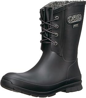 808a8712fcd8 Amazon.com   Bogs Women's Sidney Cravat Snow Boot   Mid-Calf