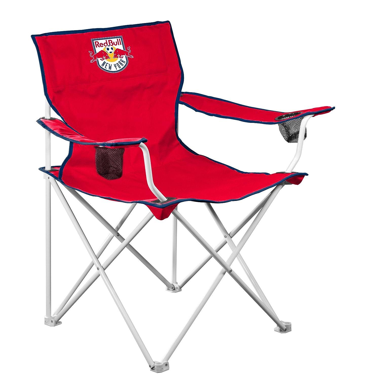 Logo Brands MLS Nueva YORK rojo Bulls Deluxe silla: Amazon ...