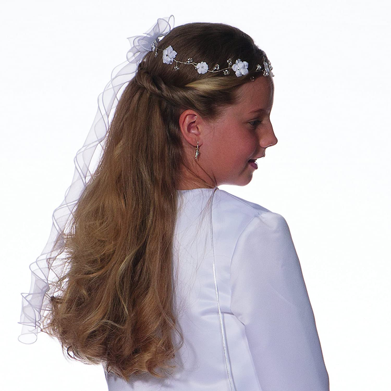 Haarspange mit Rosen Haarschmuck Kopfschmuck Haargesteck Hochzeit Taufe