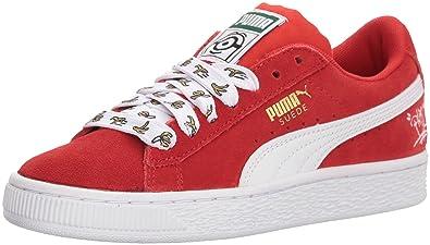 PUMA Unisex-Kids Minions Suede Jr Sneaker ee5f84fb5
