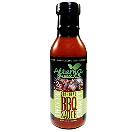 Amazon Com Alternasweets Sweet Smokey Bbq Sauce 13 5 Oz