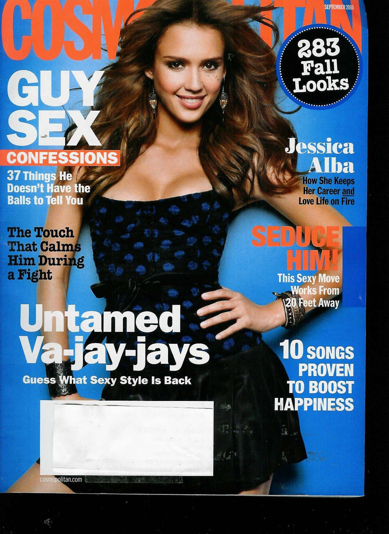 Read Online Cosmopolitan Jessica Alba//Guy Sex Confessions //Untamed Va-jay-jays (September 2010) PDF