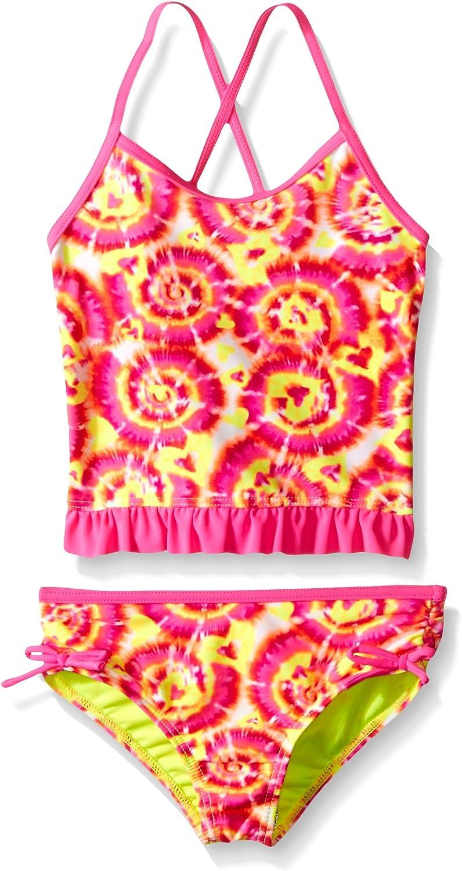 Laguna Girls Love and Tie Dye Two Piece Swimsuit