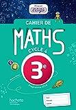 Cahier de maths Mission Indigo 3e - éd. 2017: Mathématiques (Mission Indigo mathématiques)