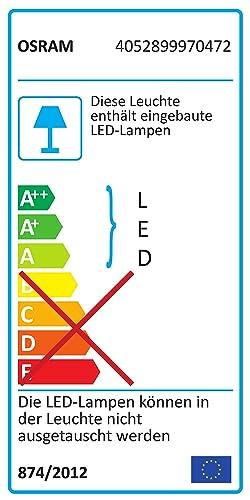 Osram MINI LED BATTEN 60cm 7W 3000K Unterbauleuchte Lichtleiste mit EU-Stecker