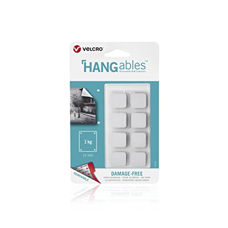 Velcro Brand Hangables Removable Wall Fasteners Decorate Without