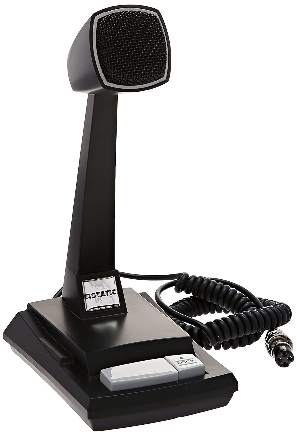 Amazon.com: Astatic 302-AST878DM Cb Desk Mic: Automotive