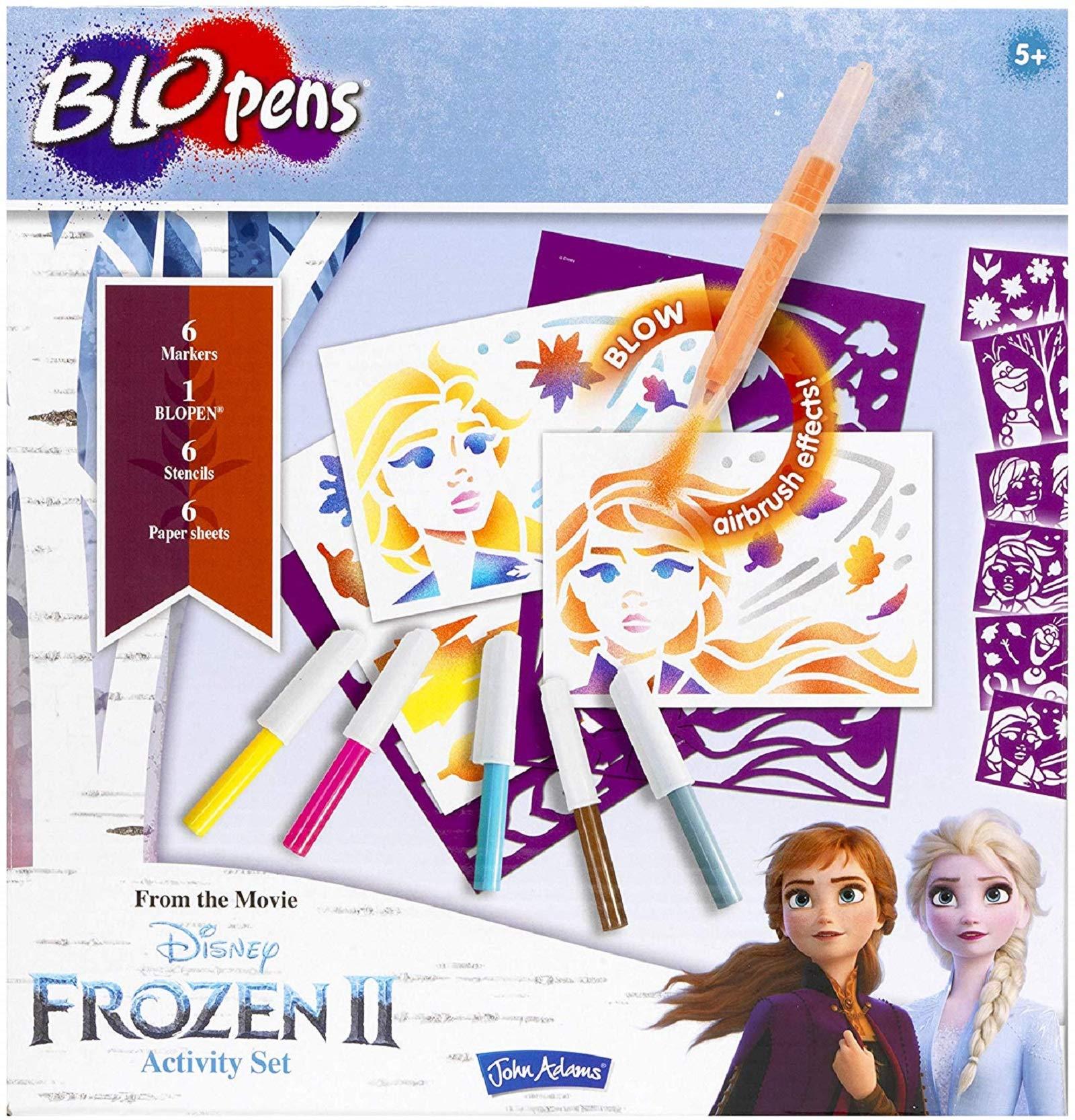 John Adams 10800 Disney Frozen II BLOPENS(R) Activity Set