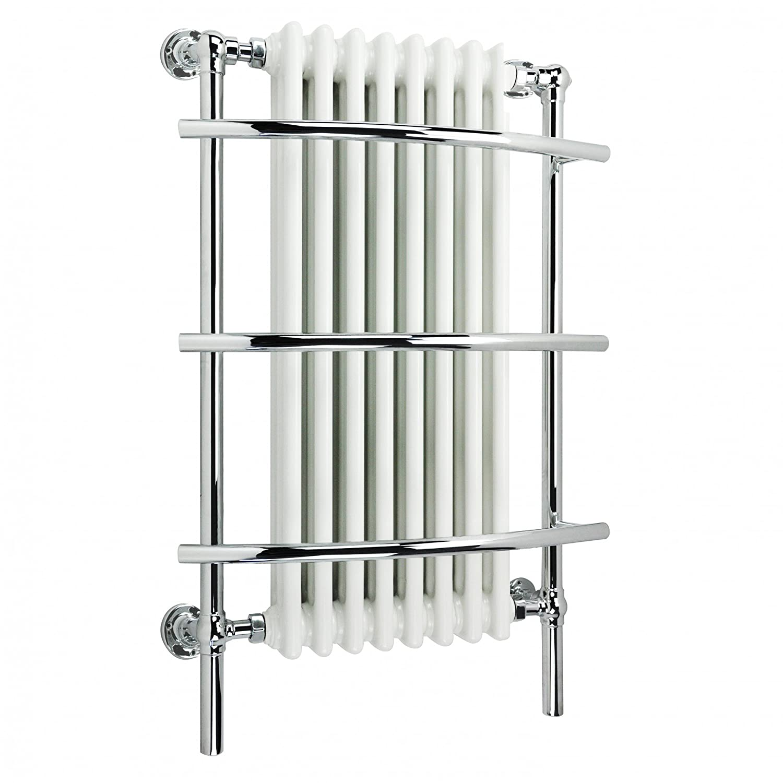 Small heated towel rails for bathrooms - Ibathuk 8 Column Traditional Designer Heated Towel Rail Bathroom Radiator All Sizes Rt09 Ibathuk Amazon Co Uk Diy Tools
