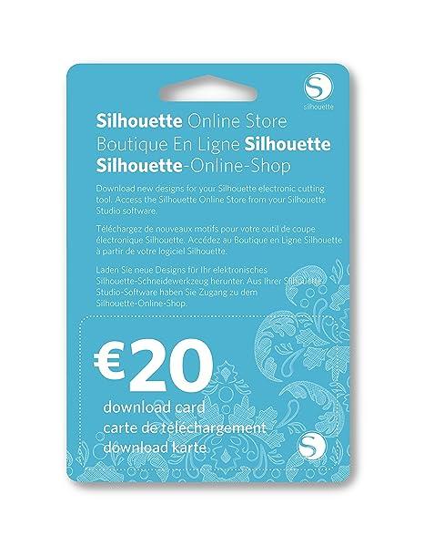 Silhouette America SILH-20DNLD - Vale Recargable de 20 Euros ...