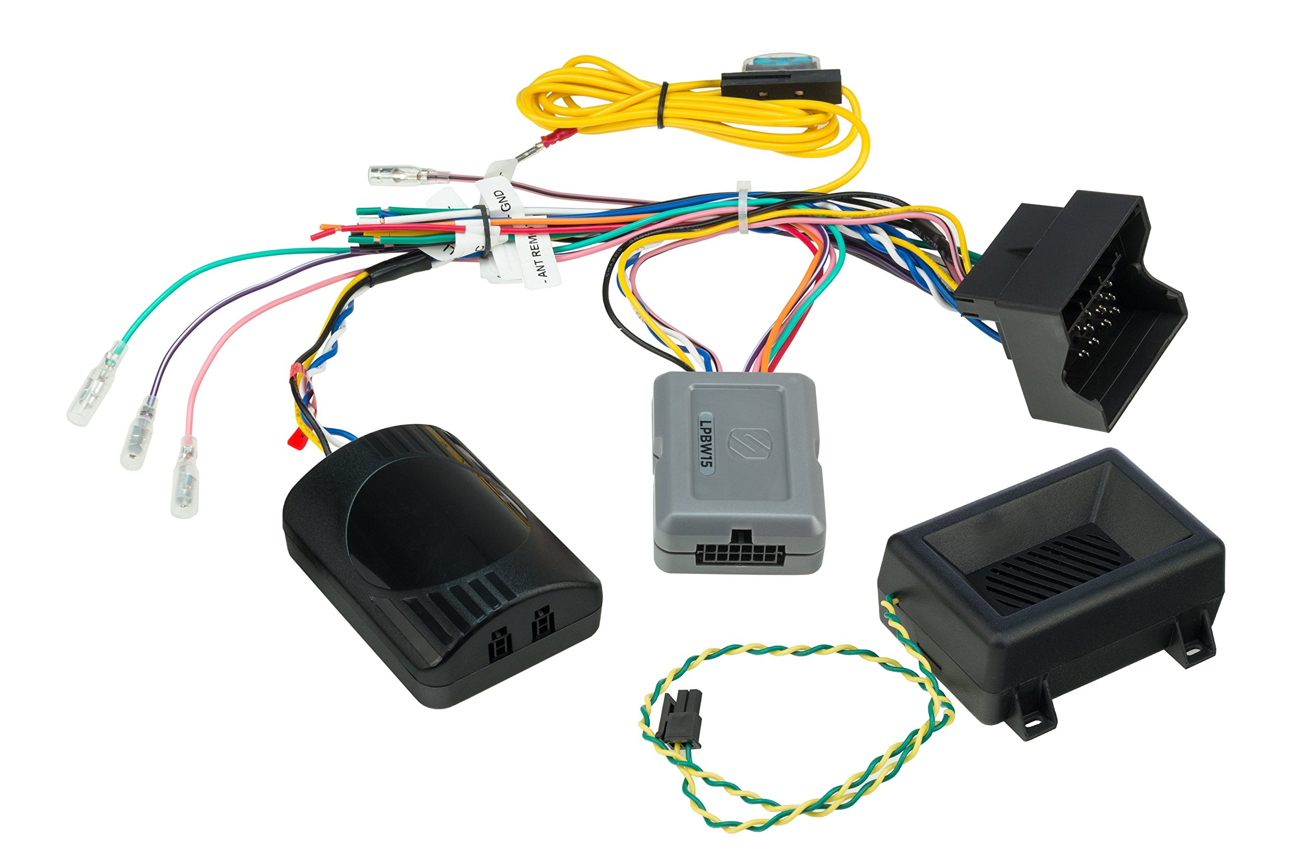 SCOSCHELPBW152004-up Select BMW/Mini Link+ Interface with OEM Chime and SWC Retention