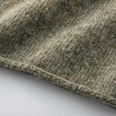 Nor'Easterly Shetland Wool Turtleneck Sweater 15-010: Oyster