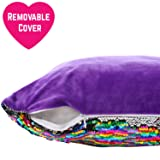 GirlZone: Magical Reversible Sequin Pillow for