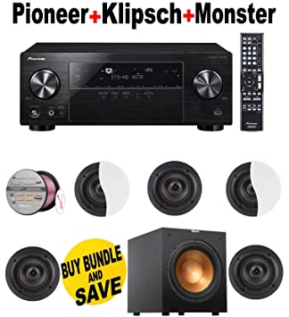 Amazon.com: Pioneer vsx-830-k 5.2-channel receptor AV con ...