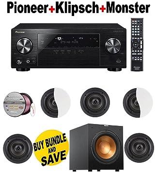 Amazon.com: Pioneer vsx-830-k 5.2-channel receptor AV con ...
