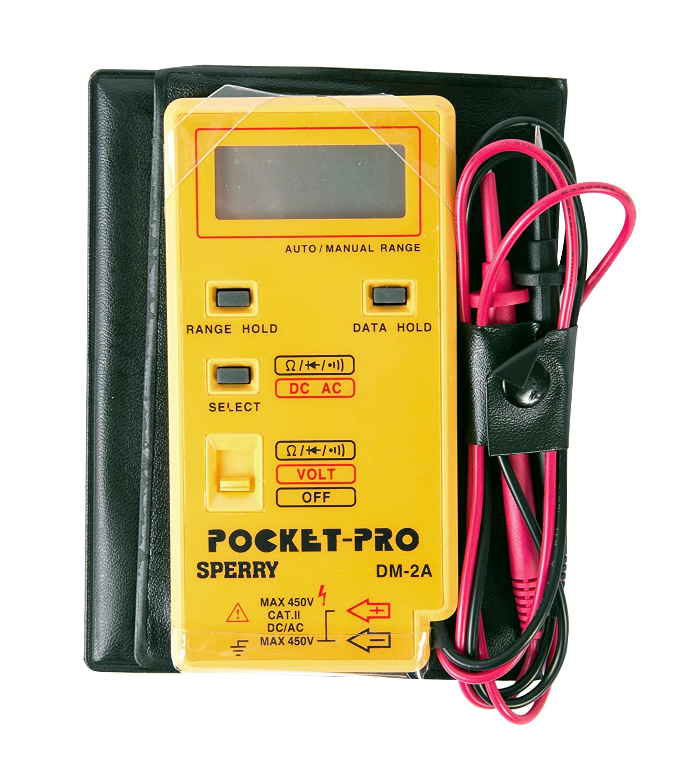 Test Car Fuse Box Multimeter Wiring Schematics Diagram Mazda 121 Sperry Instruments Dm6450 Digital 9 Function 750 1000v Whitman Leather Cases