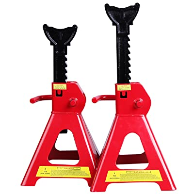 CARTMAN 3 Ton Jack Stands (Sold in Pairs): Automotive