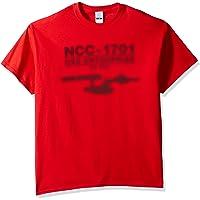 Star Trek Men's Ncc-1707 USS Enterprise T-Shirt