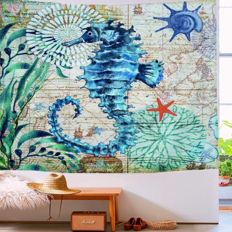 Gspirit Tapisseries D/écoratives Cr/âne Yoga M/éditation Tenture Murale Serviette de Plage Chambre Tapestry 150 x 130 cm