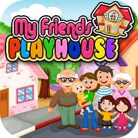 My Pretend House - Kids Family & Dollhouse Pretend Kids Playtime Games