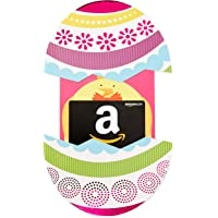 Amazon.com Gift Card in an Easter Egg Reveal (Classic Black Card Design)