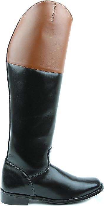 Hispar ROYAL Mens Man Fox Hunting Dressage Dress Tall Boots Pull On Tan Top