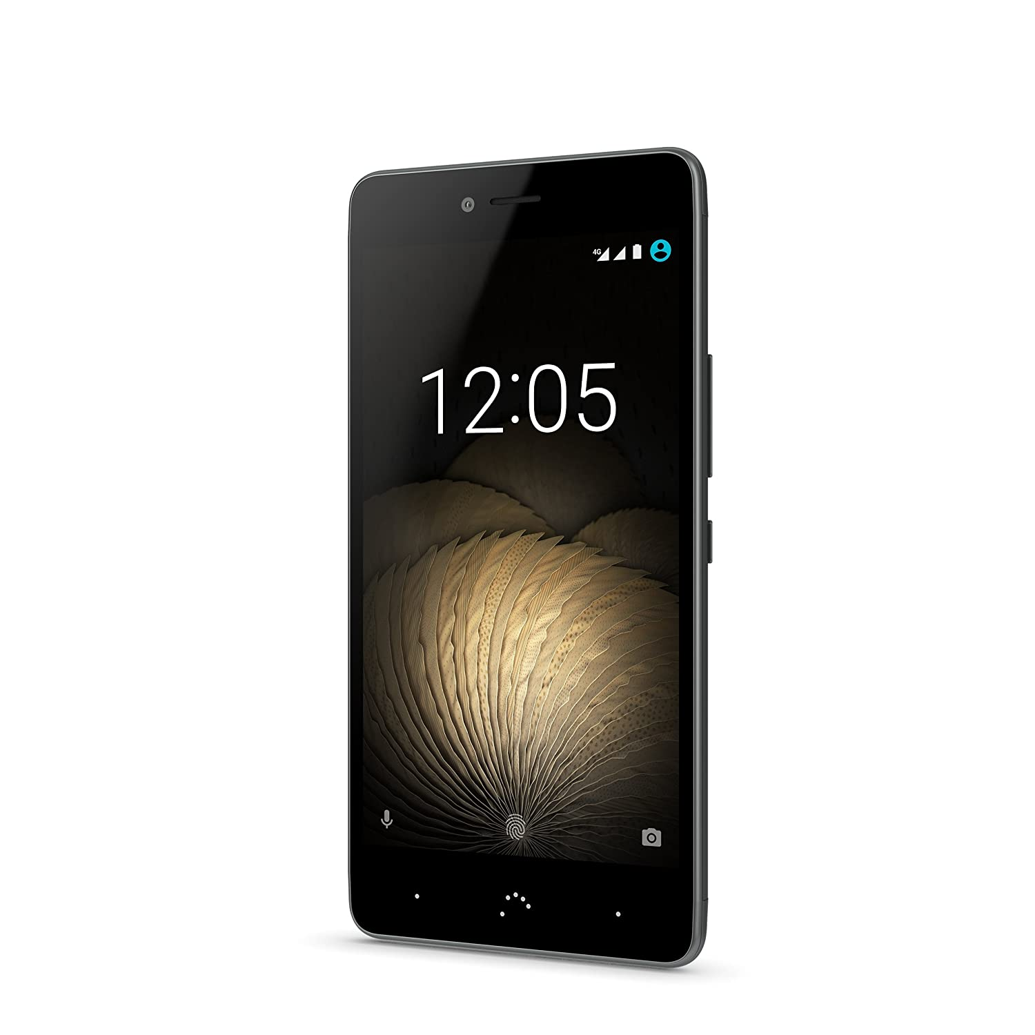 bq Aquaris U Plus Smartphone 5 Zoll black: Amazon.de: Elektronik