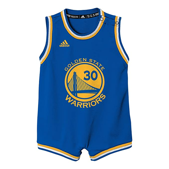 cd263d8962254 Amazon.com : NBA Infant Golden State Warriors Curry Replica Road ...