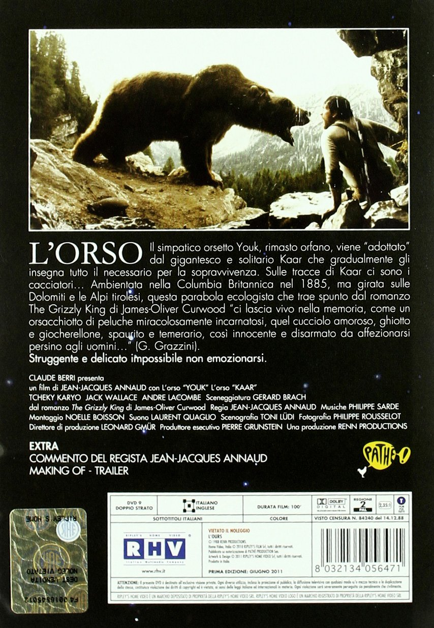 Amazon.com: LOrso: jack wallace, tcheky karyo, jean-jacques annaud: Movies & TV
